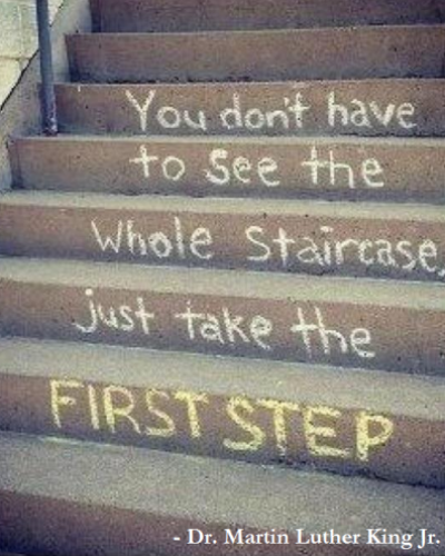 the-first-step-mlk